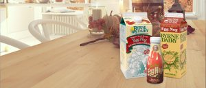 BD Carousel EggNog 300x128 - nordic kitchen in an apartment. 3D rendering. thanksgiving concept.
