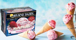 BD Strawberry Cones 947358152 300x158 - Ice Cream Cones