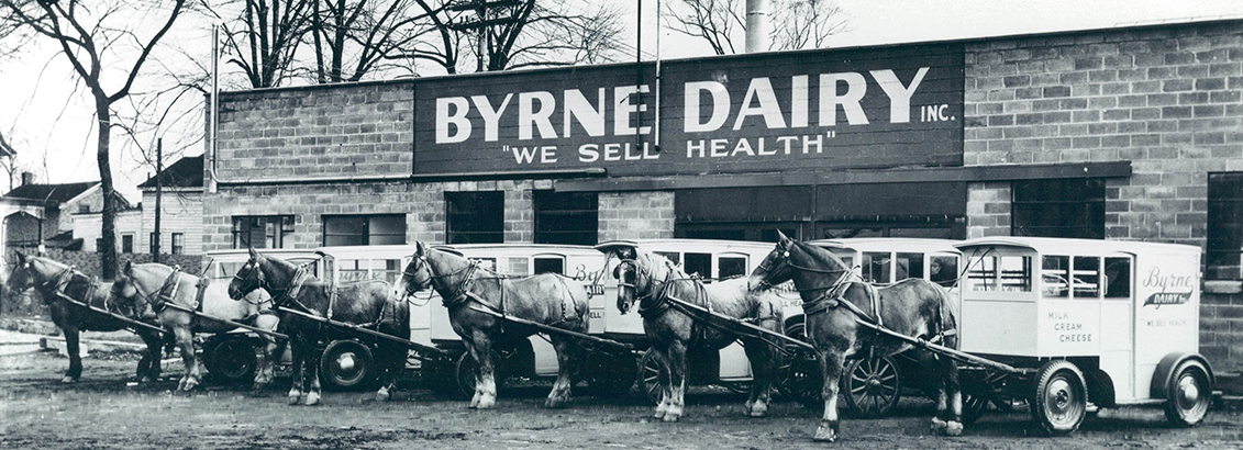 History of Byrne Dairy Glass Milk Bottles Slide 2 - Milk in Glass Bottles