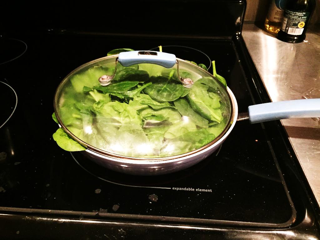 In the Kitchen 2b - In the Kitchen: Greek Yoghurt Spinach Dip