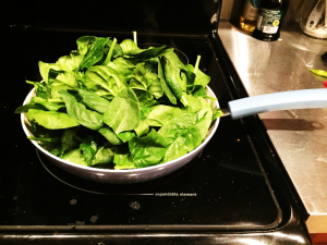 In the Kitchen step 2a - In the Kitchen: Greek Yoghurt Spinach Dip